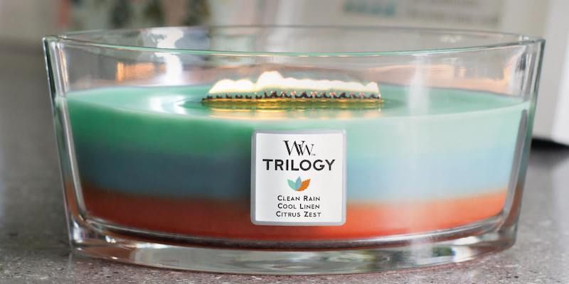 WoodWick Trilogy Geurkaars
