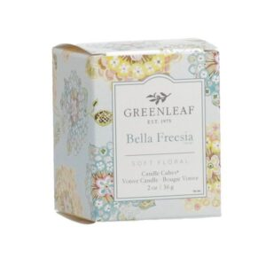 Greenleaf Bella Freesia Votive Geurkaars
