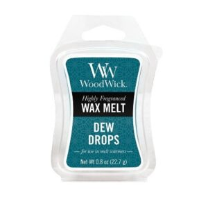 Geurkaarsen en wax melts van WoodWick Dew Drops