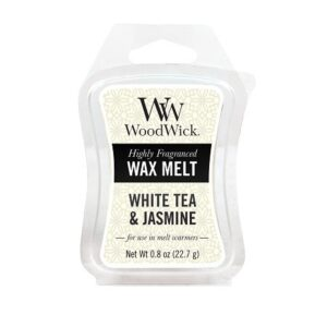 WoodWick White Tea & Jasmine Mini Wax Melt