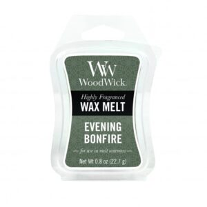 WoodWick Evening Bonfire Mini Wax Melt