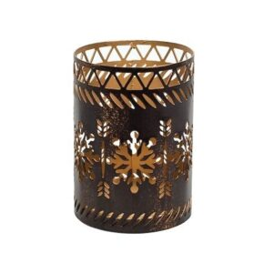 WoodWick Snowflake Petite Candle Holder