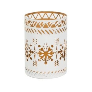 WoodWick® Snowflake Petite Candle Holder