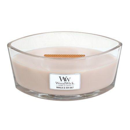 WoodWick® Vanilla & Sea Salt HearthWick Ellips - Geur en ...
