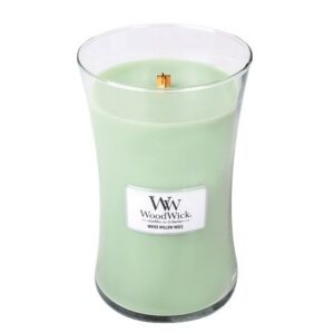 WoodWick White Willow Moss Geurkaars Large