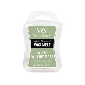 WoodWick White Willow Moss Mini Wax Melt