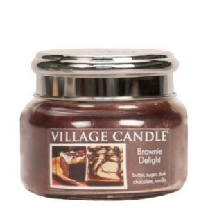Brownie Delight Village Candle Geurkaars Small