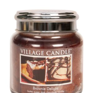 Brownie Delight Village Candle Geurkaars Medium
