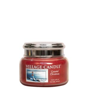 Coastal Christmas Village Candle Geurkaars Small