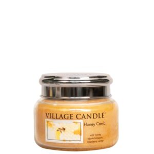 Honey Comb Village Candle Geurkaars Small