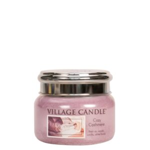 Cozy Cashmere Village Candle Geurkaars Small