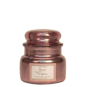 Guava Tangerine Metallic Village Candle Geurkaars Small