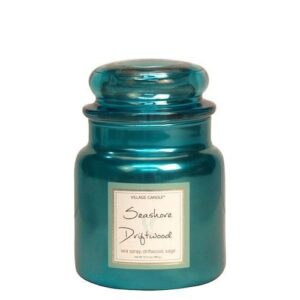 Seashore Driftwood Metallic Village Candle Geurkaars Medium