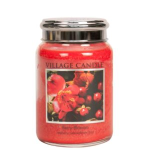 Berry Blossom Village Candle Geurkaars Large