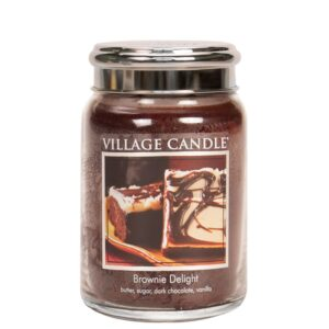 Brownie Delight Village Candle Geurkaars Large