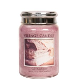 Cozy Cashmere Village Candle Geurkaars Large