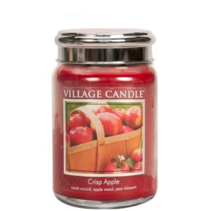 Crisp Apple Village Candle Geurkaars Large