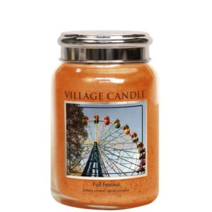 Fall Festival Village Candle Geurkaars Large