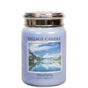 Glacial Spring Village Candle Geurkaars Large