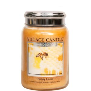 Honey Comb Village Candle Geurkaars Large