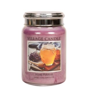 Honey Patchouli Village Candle Geurkaars Large