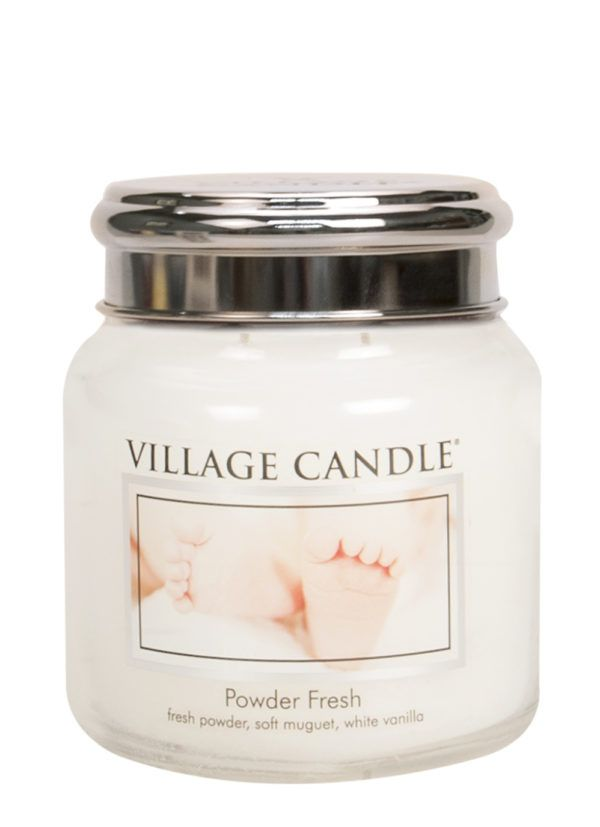 Powder Fresh Village Candle Geurkaars Medium