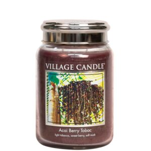 Acai Berry Tabac Village Candle Geurkaars Large