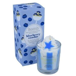 BomB Gourmand Candle Blueberry Sundae