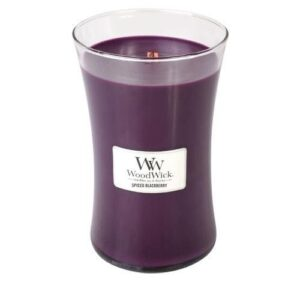 Woodwick Spiced Blackberry Large Candle