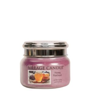 Honey Patchouli Village Candle Geurkaars Small