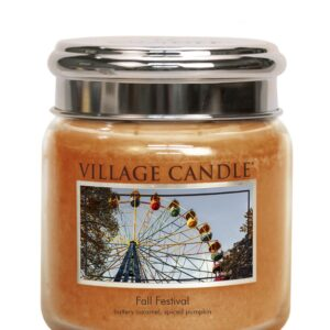 Fall Festival Village Candle Geurkaars Medium