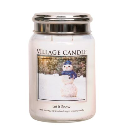 Village Candle Let It Snow Geurkaarsen
