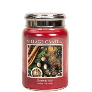 Christmas Spice Village Candle Geurkaars Large