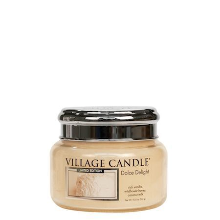 Dolce Delight Village Candle Geurkaars Small