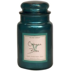 Cabana Bliss geurkaarsen van Village Candle
