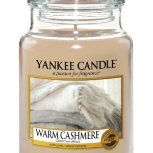 Warm Cashmere Large Jar Yankee Candle