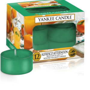 Alfresco Afternoon Tea Lights Yankee Candle