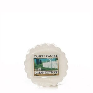 Clean Cotton Wax Melt Tart Yankee Candle
