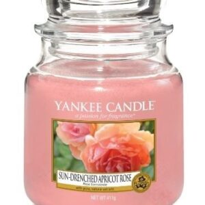 Sun-Drenched Apricoat Rose Medium Jar Yankee Candle
