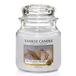 Autumn Pearl Medium Jar Yankee Candle