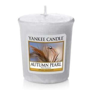Autumn Pearl Votive Yankee Candle