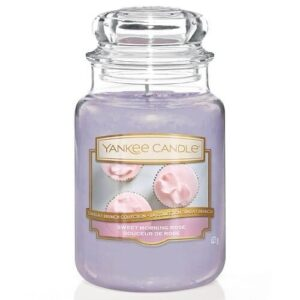Sweet Morning Rose Large Jar Yankee Candle