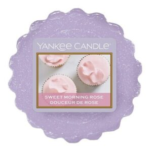 Sweet Morning Rose Wax Melt Tart Yankee Candle
