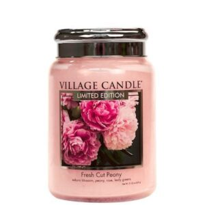 Fresh Cut Peony Village Candle Geurkaars Large