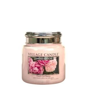 Fresh Cut Peony Village Candle Geurkaars Medium