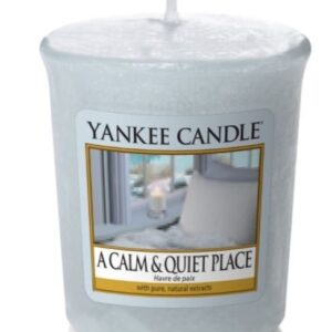 A calm and Quiet Place Votive Yankee Candle