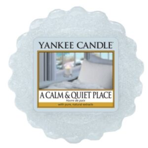 A calm and Quiet Place Wax Melt Tart Yankee Candle
