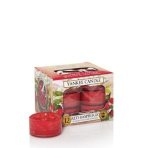 Red Raspberry Tea Lights Yankee Candle