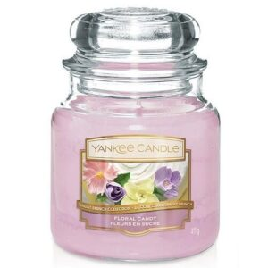 Floral Candy Medium Jar Yankee Candle