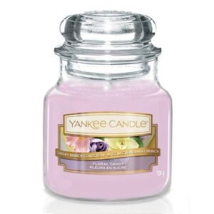 Floral Candy Small Jar Yankee Candle